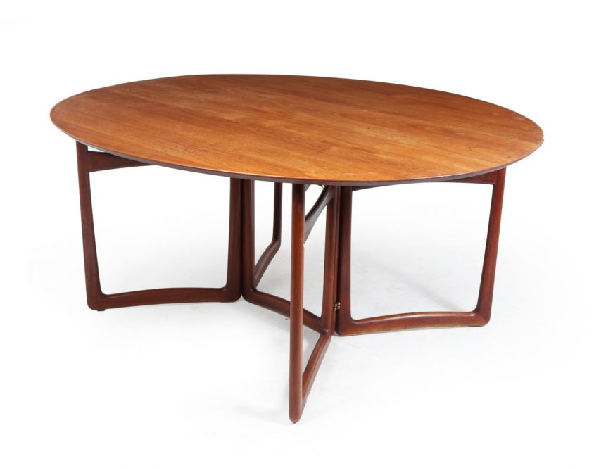 Mid Century Dining Table by Peter Hvidt and Orla Molgaard-Nielsen c1950