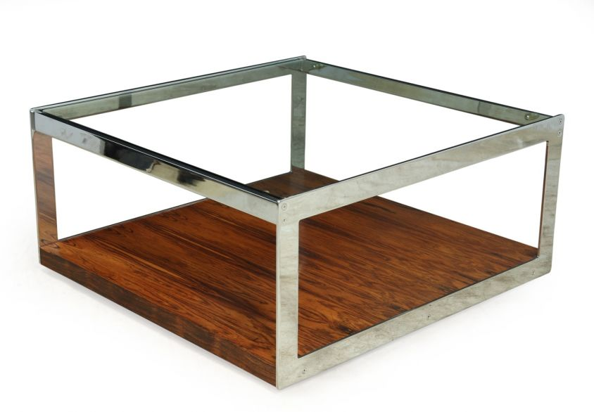 Mid Century Large square Coffee Table By Merrow Associates