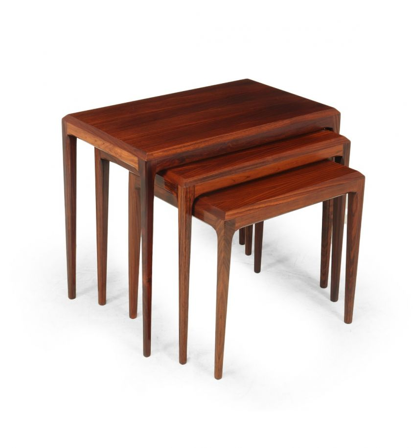 Mid century Nest of Tables by Johannes Andersen